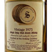 Ardbeg 1975 Vintage 18 year old Signatory Single Malt Whisky