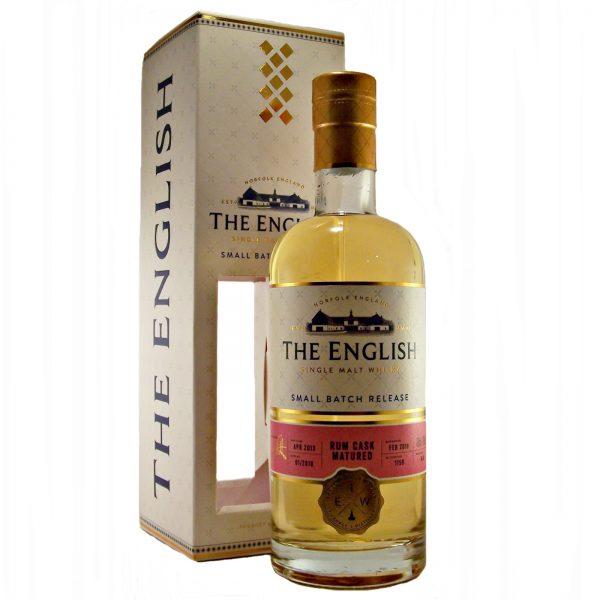 English Whisky Rum Cask Matured