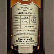 Clynelish 2005 Cask Strength Connoisseurs Choice Single Malt Whisky