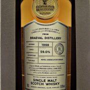 Braeval 1998 Cask Strength Connoisseurs Choice Single Malt Whisky