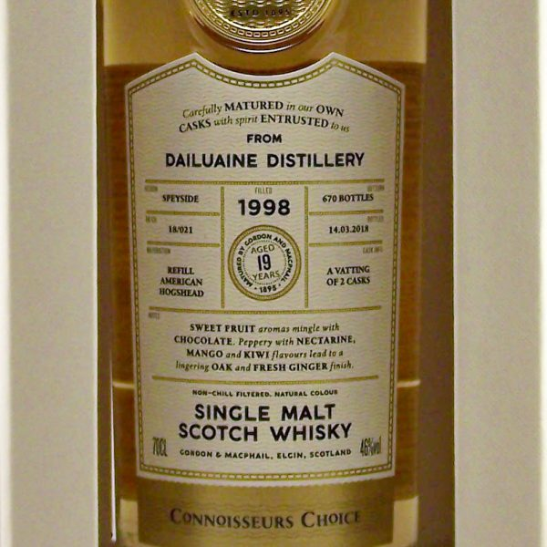 Dailuaine 1998 Connoisseurs Choice Single Malt Scotch Whisky