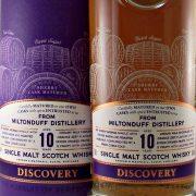 Miltonduff 10 year old Discovery Single Malt Whisky