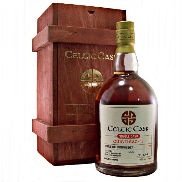 Celtic Cask Cuig Deag 24 year old Irish Whiskey