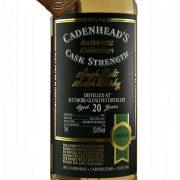 Aultmore-Glenlivet 20 year old Cadenhead's Cask Strength