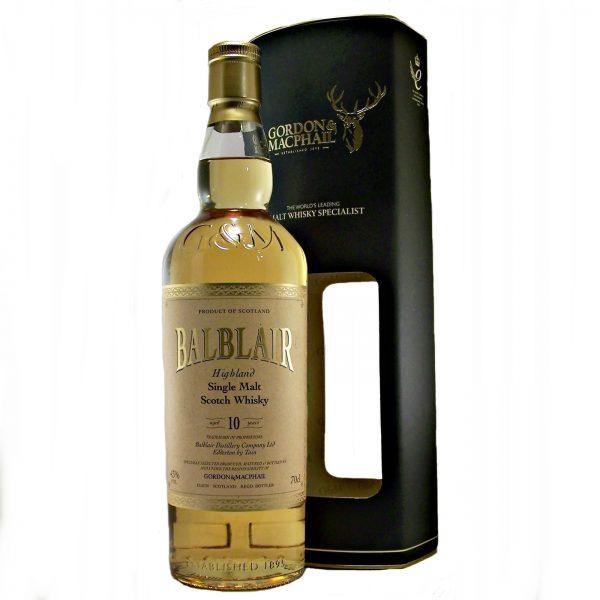 Balblair 10 year old Single Malt Whisky