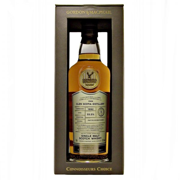 Glen Scotia 1992 Cask Strength Connoisseurs Choice