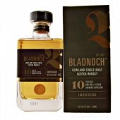 Bladnoch 10 year old Bourbon Limited release Expression at whiskys.co.uk