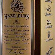 Hazelburn 10 year old Sauternes Wood Springbank Society