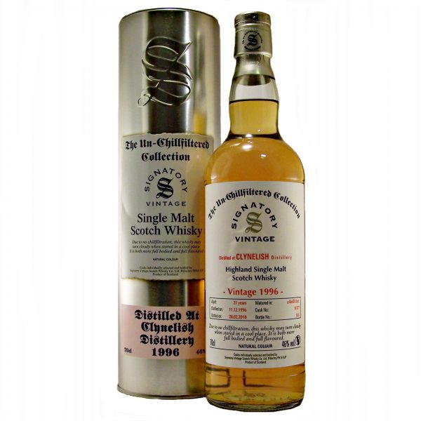 Clynelish 21 year old 1996 Vintage