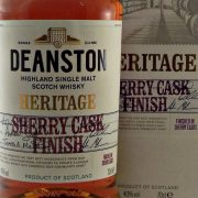 Deanston Heritage Sherry Cask Finish Single Malt Whisky