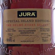 Jura 1988 Delme-Evans Select  Single Malt Whisky