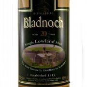 Bladnoch 20 year old Lowland Single Malt Whisky