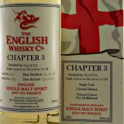 English Whisky Company Chapter 3 Single Cask new make spirit
