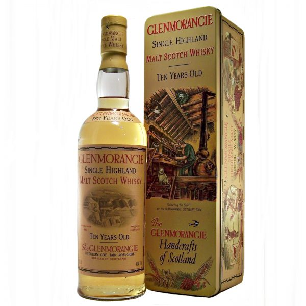 Glenmorangie 10 year old (old style) in Gift Tin