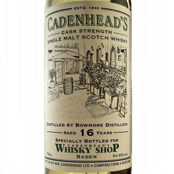 Bowmore 15 year old Cadenhead's 175th Anniversary Baden