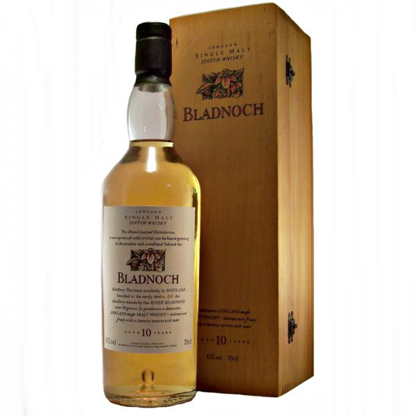 Bladnoch 10 year old Flora & Fauna in Wooden Box