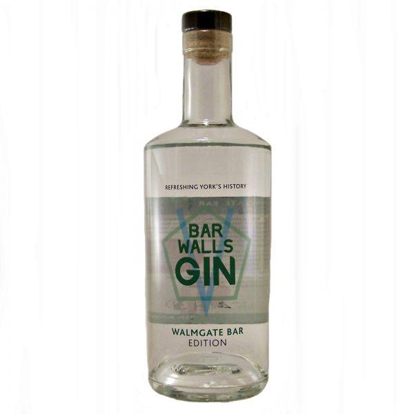Bar Walls Gin Walmgate Bar Edition