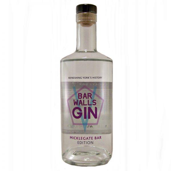Bar Walls Gin Micklegate Bar Edition