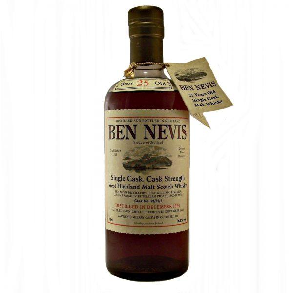 Ben Nevis 25 year old