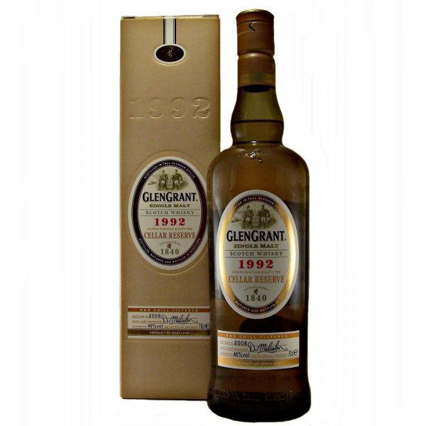 Glen Grant 1992 Cellar Reserve Single Malt Scotch Whisky