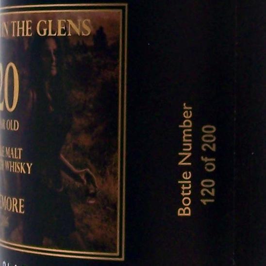 """""""Thunder in The Glens"""" 20 year old Beinn Dubh Black Single Malt Whisky"""