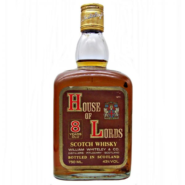 House of Lords 8 year old Scotch Whisky