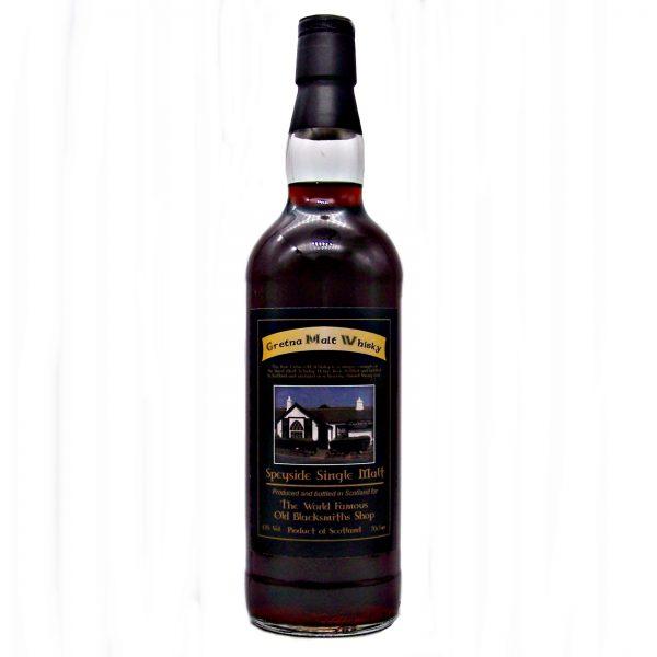 Gretna Black Single Malt Whisky