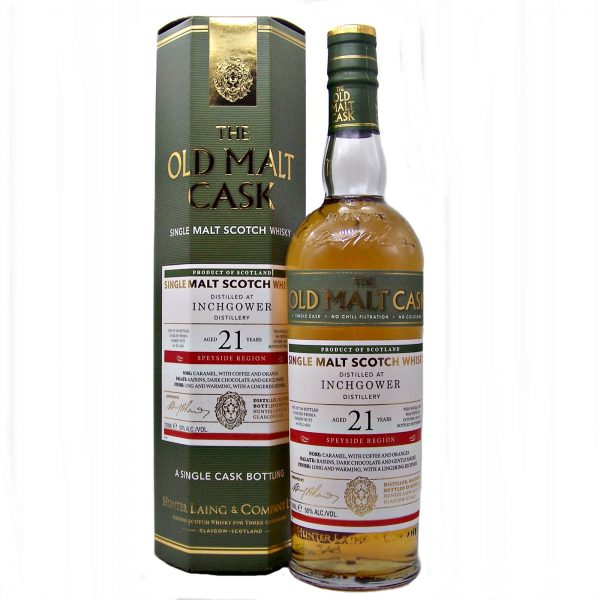 Inchgower 21 year old Single Malt Whisky