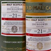 Inchgower 21 year old Single Malt Whisky Old Malt Cask