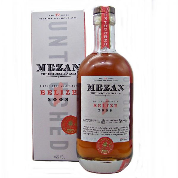Mezan Belize 2008 Single Distillery Rum