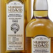 Glen Grant 25 year old Mission Gold