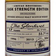 Glenlivet 17 year old Cask Strength Single Malt Whisky