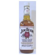 Jim Beam Bourbon Whiskey (original) White Label available to buy online from specialist whisky shop whiskys.co.uk Stamford Bridge York