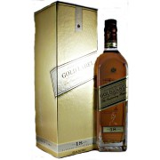 Johnnie Walker Gold Label 18 year old The Centenary Blend Scotch Whisky available from specialist whisky shop whiskys.co.uk Stamford Bridge York