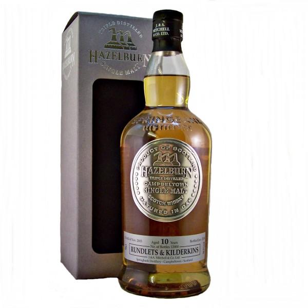 Hazelburn Rundlets & Kilderkins Malt Whisky