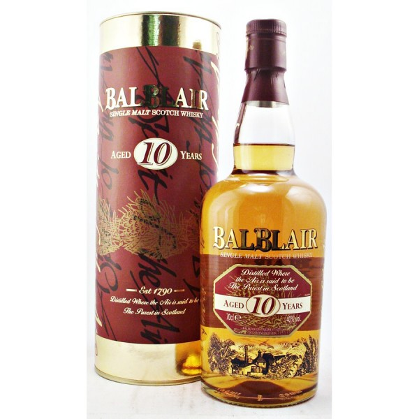 Balblair-10 Malt Whisky