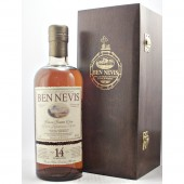 Ben Nevis 14 year old Single Sherry Cask No: 2623 Numbered bottles of 815 available from specialist whisky shop whiskys.co.uk Stamford Bridge York