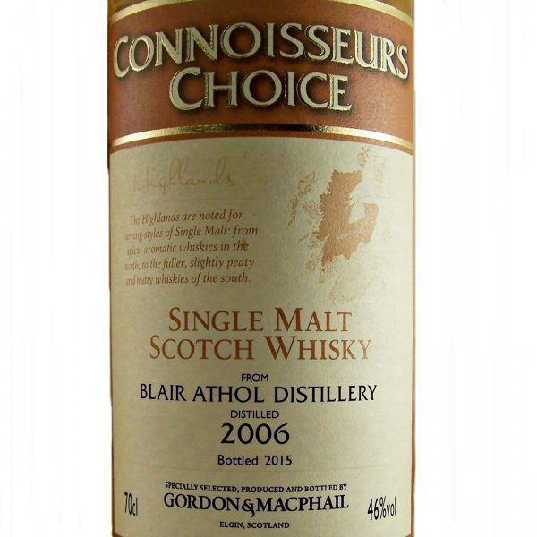 Blair Athol Single Malt Whisky 2006 vintage