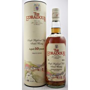 Edradour Single Malt Whisky 10 year old Obsolete early bottling available to buy online from specialist whisky shop whiskys.co.uk Stamford Bridge York