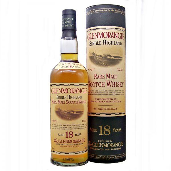 Glenmorangie 18 year old 1990's (old style bottle)