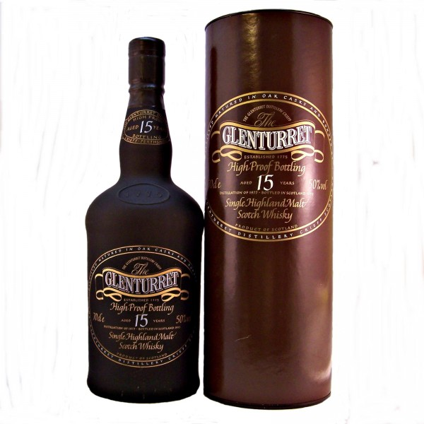 Glenturret 15 year old 1977 Vintage High Proof