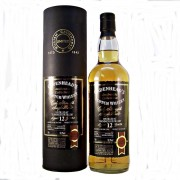 Teaninich Malt Whisky A discontinued bottling of Teaninich 12 year old Cask Strength Single Malt Scotch Whisky from Cadenhead's Authentic Collection.