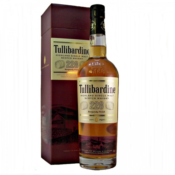 Tullibardine Burgundy Finish Malt Whisky