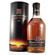 Highland Park 12 year old discontinued distillery label and packaging from the 1990s available to buy from specialist whisky shop Stamford Bridge York