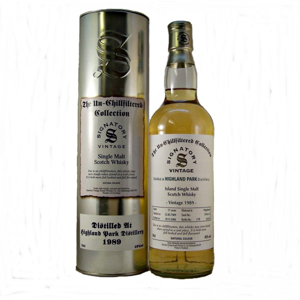 Highland Park Malt Whisky