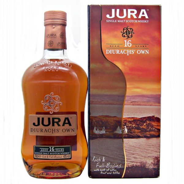 Jura 16 year old Diurachs' Own Single Malt Whisky
