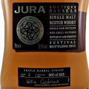 Jura Whisky Festival Bottling 2013 Boutique Barrels