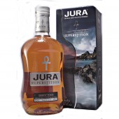 Isle of Jura Superstition Single Malt Whisky available to buy online from specialist whisky shop whiskys.co.uk Stamford Bridge York
