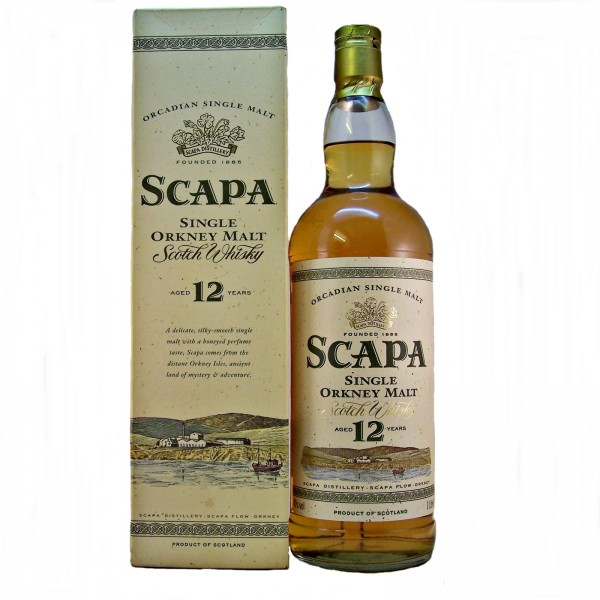 Scapa-12-year old scotch whisky