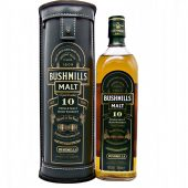 Bushmills 10 year old Single Malt Irish Whiskey at whiskys.co.uk